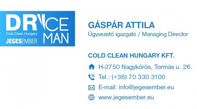 Jegesember Cold Clean Hungary Gáspár Attila