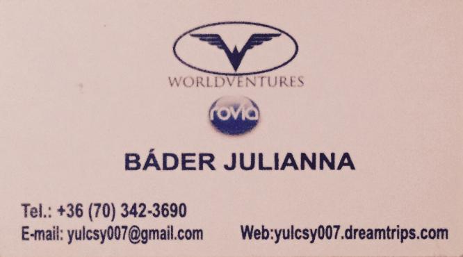 Báder Julianna Worldventures