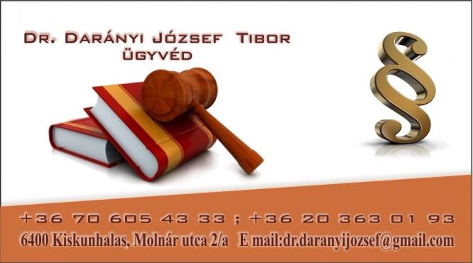 Dr. Darányi József Tibor Ügyvéd
