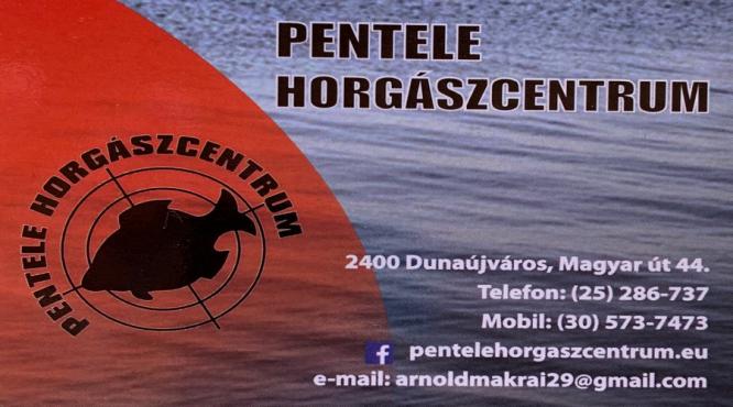 PENTELE HORGÁSZCENTRUM DUNAÚJVÁROS