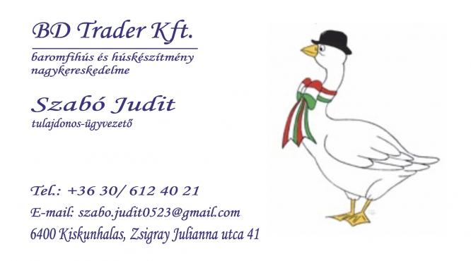 BD Trader Kft - Szabó Judit