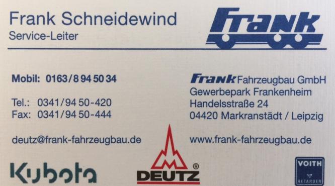 Full Service Nutzfahrzeugtechnik Frank Schneidewind Leipzing