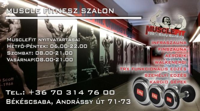 Body és Fitness Terem Békéscsaba