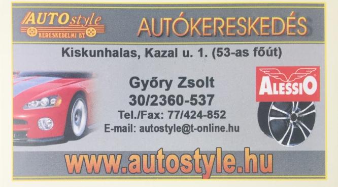 Autostyle Használtautó Kereskedés - Győry Zsolt