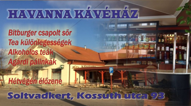 HAVANNA KÁVÉHÁZ SOLTVADKERT