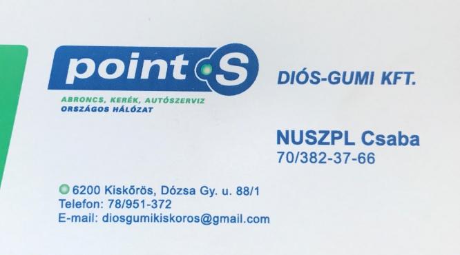 Kiskőrös Autógumiszalon Nuszpl Csaba