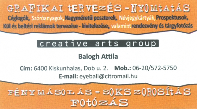 Balogh Attila Fotó Creative Arts Group