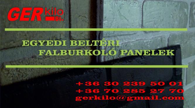 EGYEDI BELTÉRI FALBURKOLÓ PANELEK GERKILO BT KISKUNHALAS