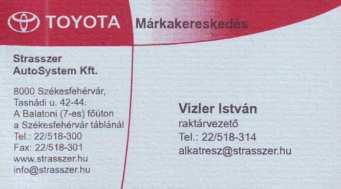 Székesfehérvár Toyota