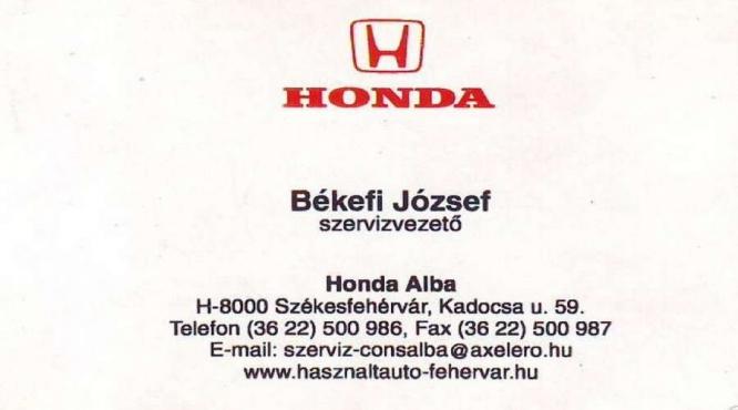 Székesfehérvár Honda