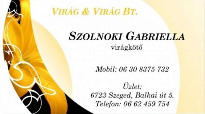 Szolnoki Gabriella Virágkötő Szeged