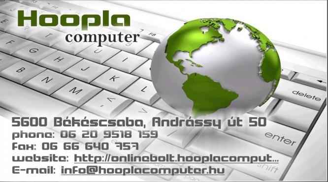 Számítógép szaküzlet Békéscsaba Hoopla Computer