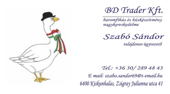 BD Trader Kft - Szabó Sándor