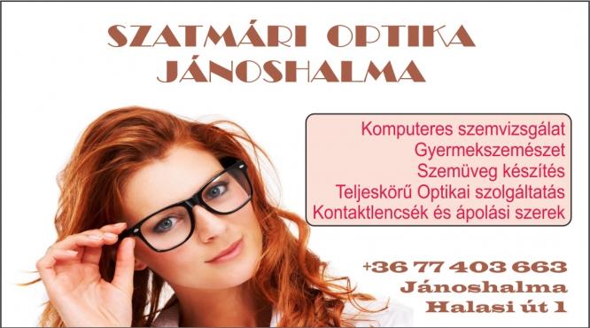 Jánoshalma Szem Optik Kft szemüveg készítés