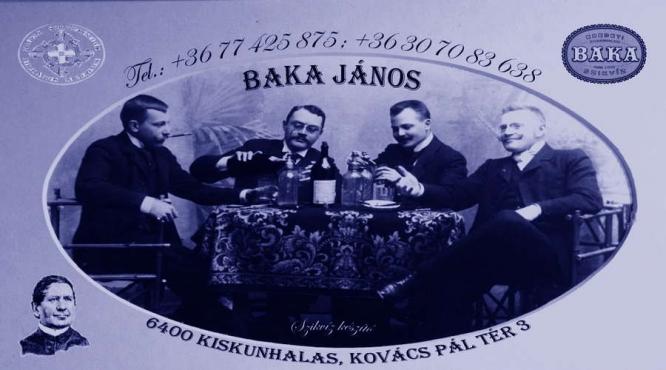 Baka János - Baka Szóda Kiskunhalas