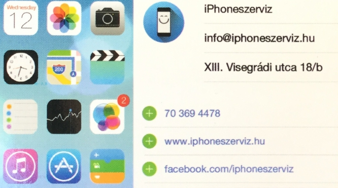 iPhoneszerviz Visegrádi utca