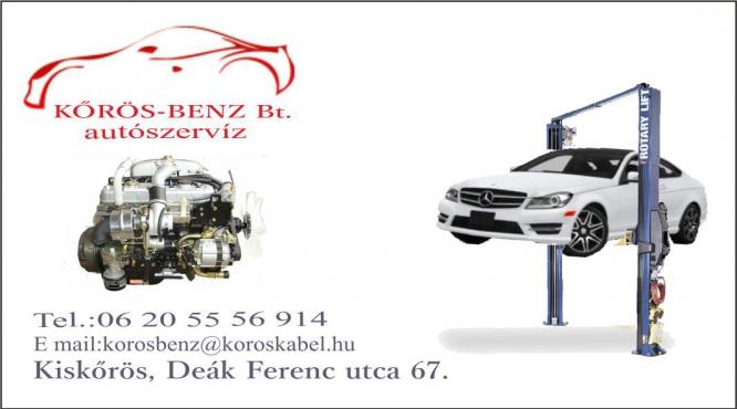 Kőrös Benz Bt. Autószervíz