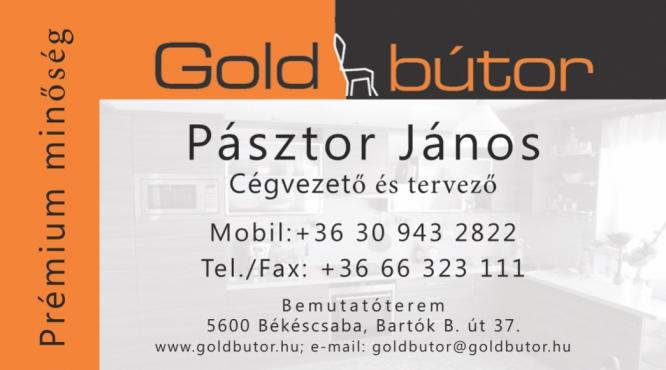 Prémium minőségi Bútor Pásztor János Gold Bútor