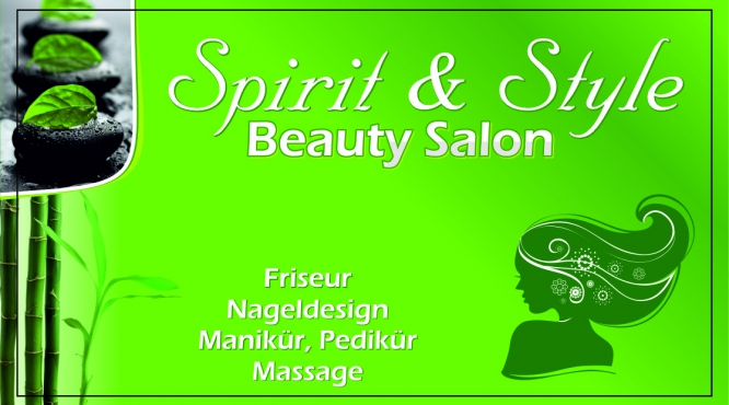Spirit & Style Beauty Studio Friseur Nageldesign Manikür Pedikür Wien