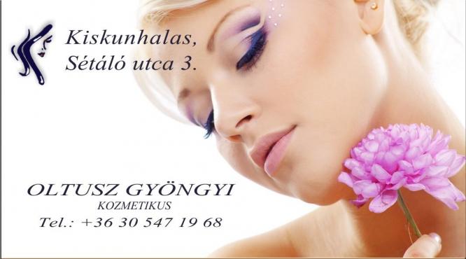 Kozmetika Oltusz Gyöngyi Kiskunhalas