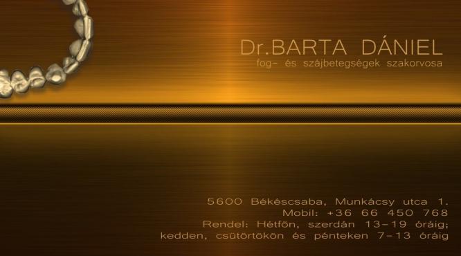 Fogorvos-Fogászat Békéscsaba Dr. Barta Dániel