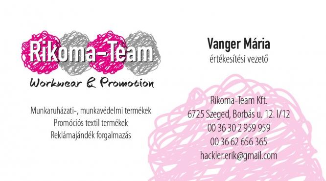 Rikoma-Team Kft. - Ropa de trabajo, productos de seguridad, productos textiles promocionales, distribución de regalos publicitarios