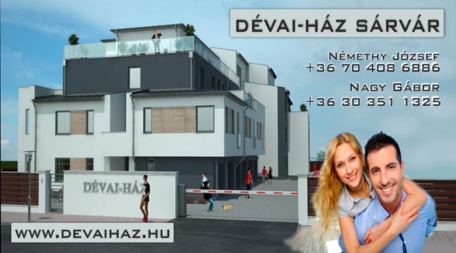 Új apartman Új lakás eladás Sárvár - értékesítés -
