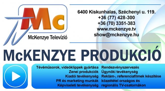 McKENZIE TELEVIZIÓ McKENZIE PRODUKCIÓ