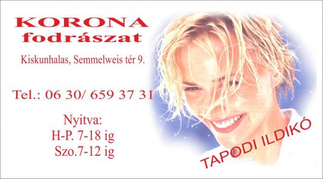 Tapodi Ildikó hairdresser