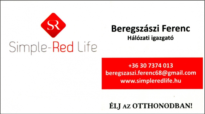 LAKÁS-OTTHONTEREMTŐ MEGOLDÁSOK BEREGSZÁSZI FERENC SZEGED SIMPLE RED LIFE
